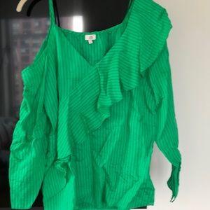 River island green blouse